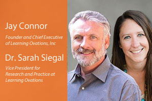 Jay Connor and Sarah Siegal