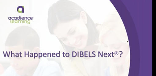 What Happened to DIBELS Next