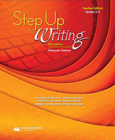 Step Up to Writing 3-5